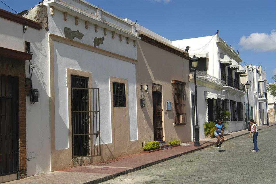 La calle las Damas , Une rue pleine de charme , République dominicaine