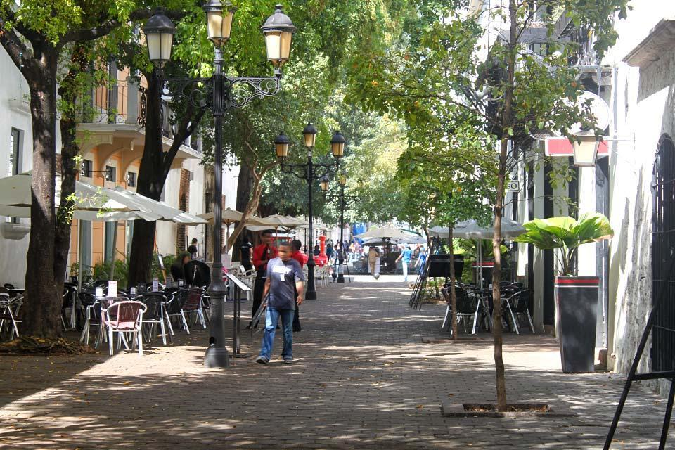 La calle del Conde, Les monuments et les balades, La calle del Conde à Saint-Domingue, St Domingue, République dominicaine