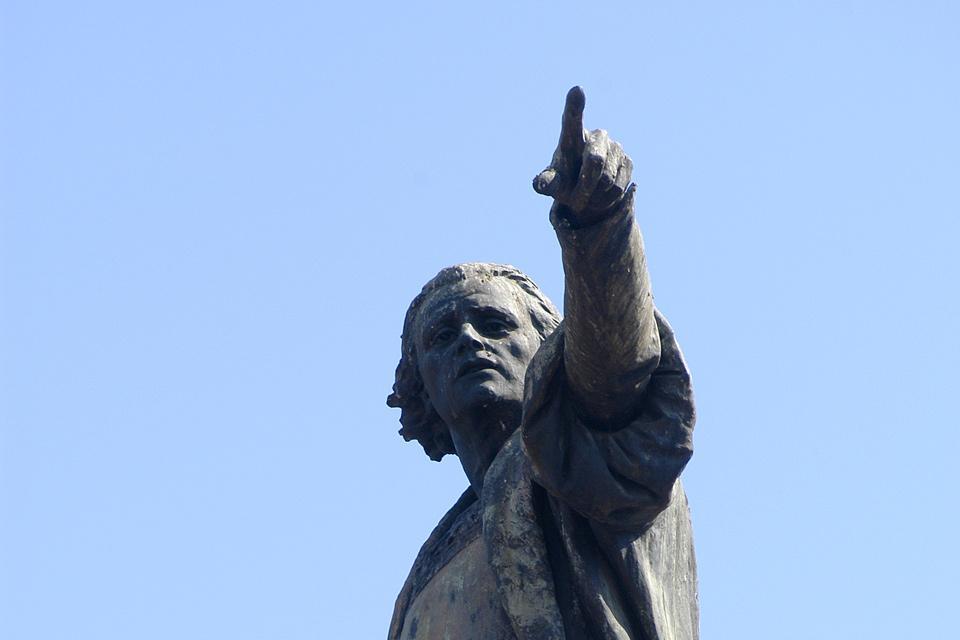 Santo Domingo's cathedral , Statue of Christopher Columbus , Dominican Republic
