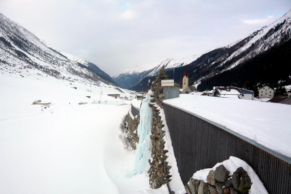Galtür Alpinarium , A climbing wall , Austria