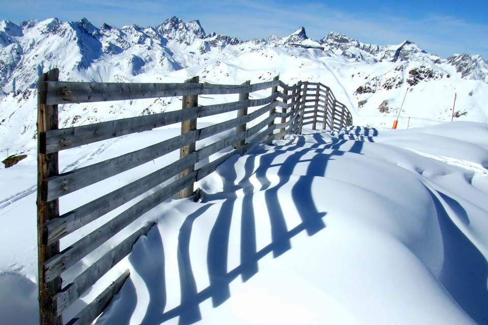 La valle di Paznaun , Parco per bambini , Austria