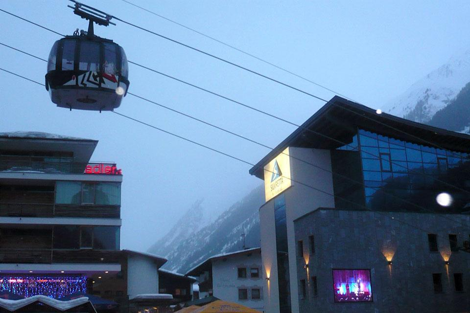Ischgl , Cable-car , Austria