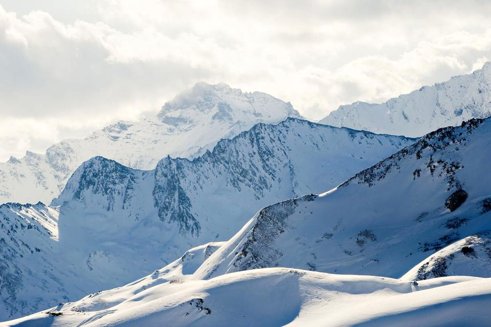 Das Tiroler Paznaun , Dorf in Tirol , Österreich