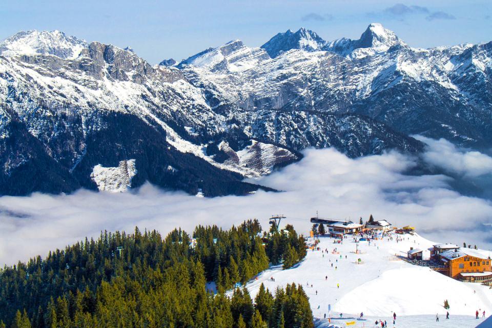 Das Tiroler Paznaun , Österreich