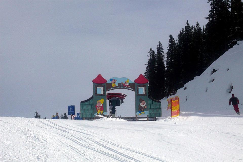 Galtür , Kinderland , Österreich