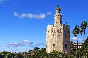 La Torre del Oro , La Tour d'Or , Espagne