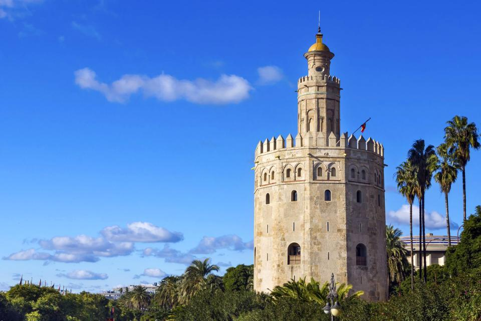 La Torre del Oro , The Golden Tower , Spain