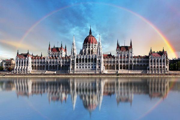 Le parlement de Budapest , Hongrie