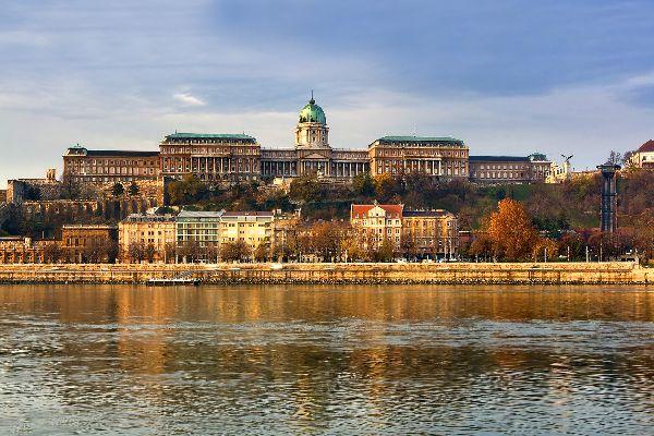 Le château royal de Budapest , Hongrie