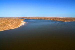 Lake Eyre , Der Lake Eyre , Australien