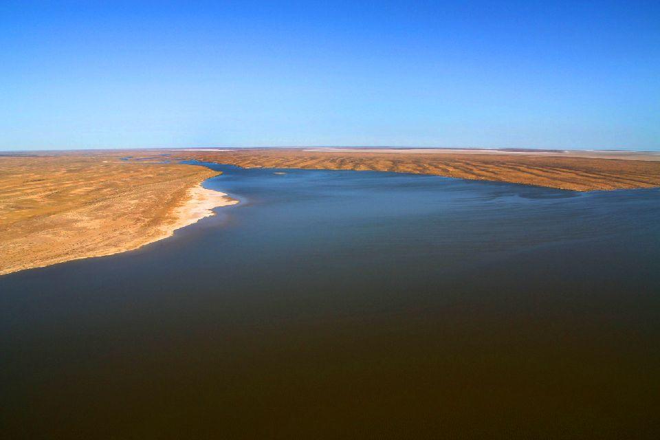 Il Lago Eyre , Australia