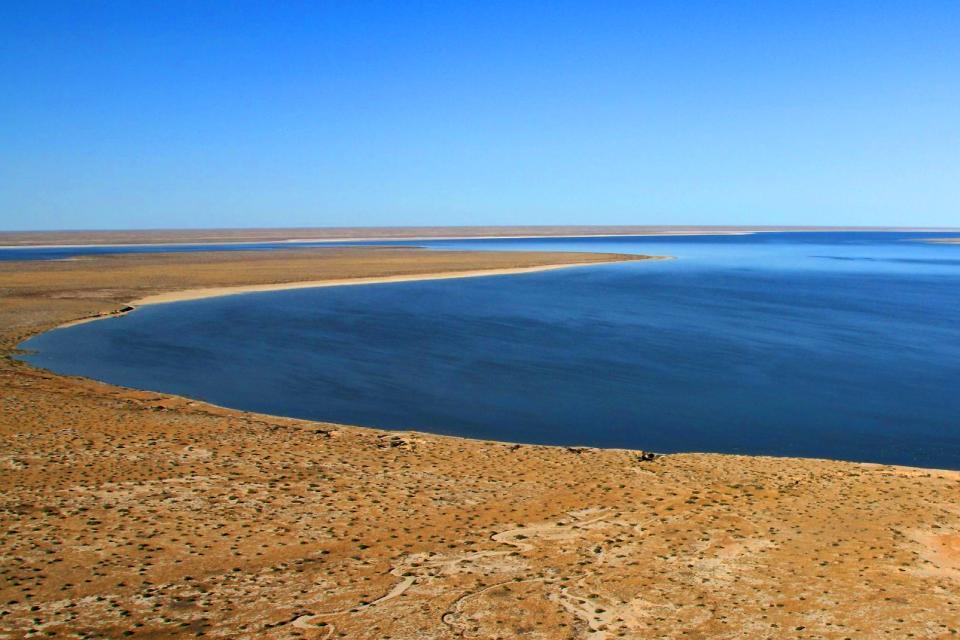 Lake Eyre , Der australische Salzwassersee , Australien