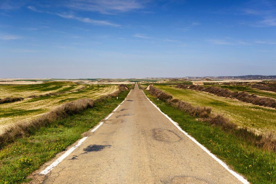 , El desierto de los Monegros, Los paisajes, Aragón