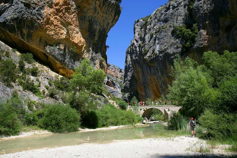Kulturpark Río Vero , Spanien