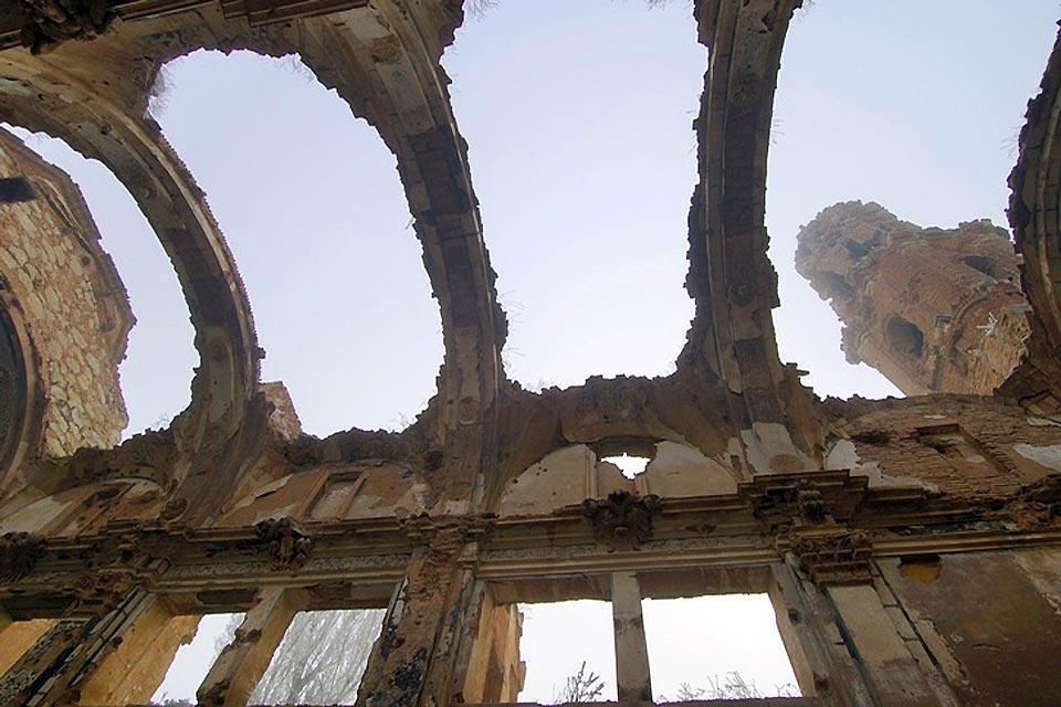 Art roman et médiéval dans la région des Cinco Villas , Espagne