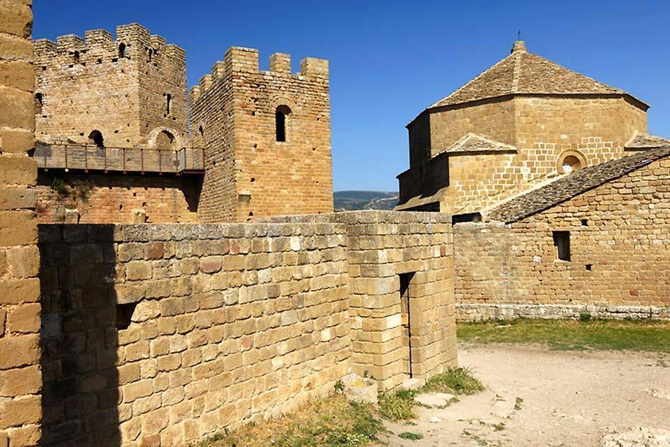 Straße der Schlösser und Burgen , Spanien