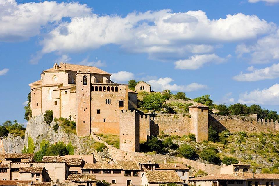 Alquézar, Festung und Colegiata (Stiftskirche) , Spanien