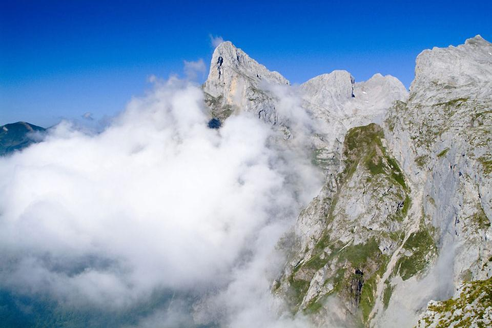 Les pics d'Europe , Spagna