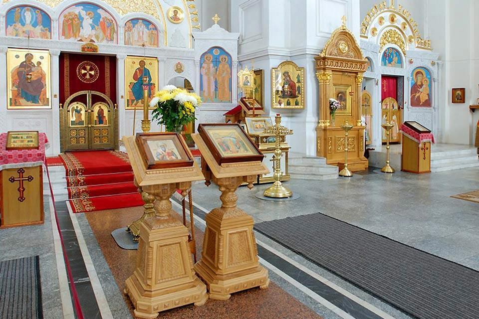 Die orthodoxe Kunst , Altar der Heiligen Verklärungskirche , Weißrussland
