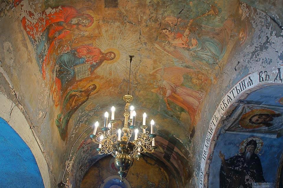 Die orthodoxe Kunst , orthodoxe Deckenbemalung , Weißrussland