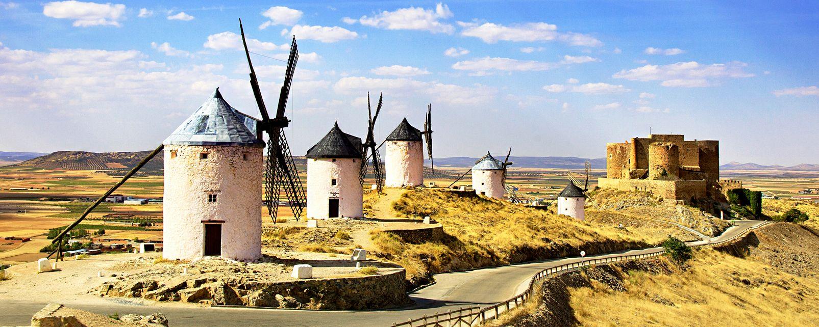 La route de Don Quichotte , Espagne