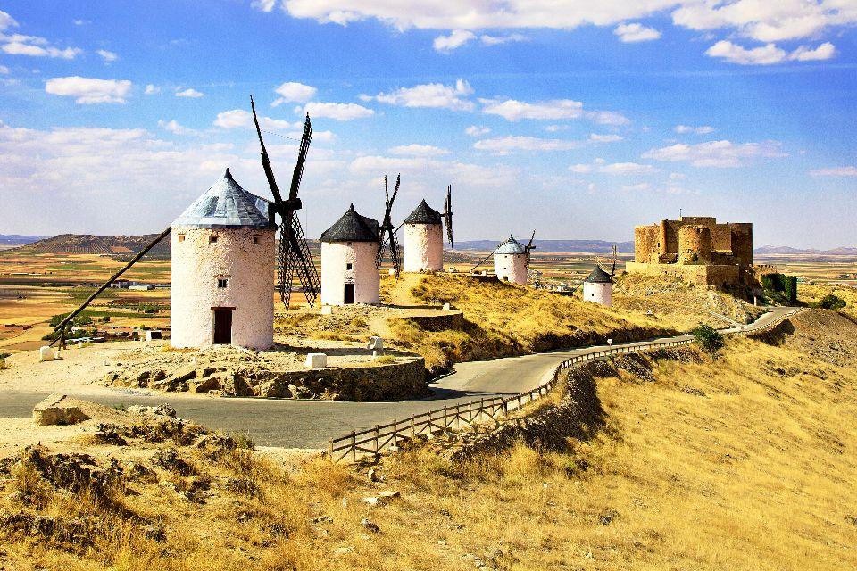 L'itinerario di Don Chisciotte , La strada di Don Chisciotte , Spagna