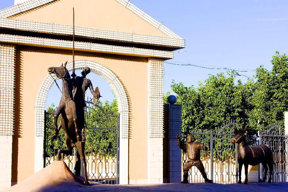 La route de Don Quichotte , Les rues de Tolède , Espagne