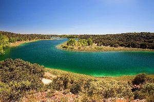 Les lagunes de Ruidera , Espagne