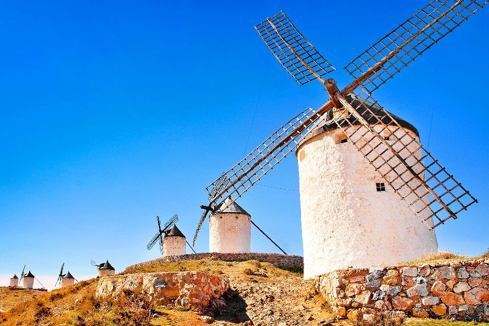 The Don Quixote sites , Toledo , Spain