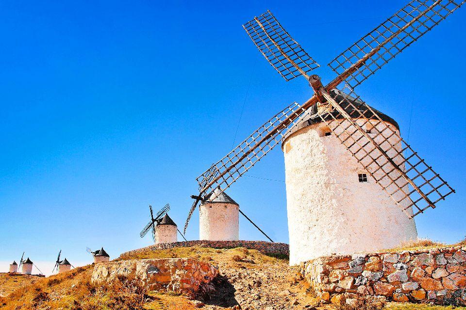 Les lieux de Don Quichotte , Espagne