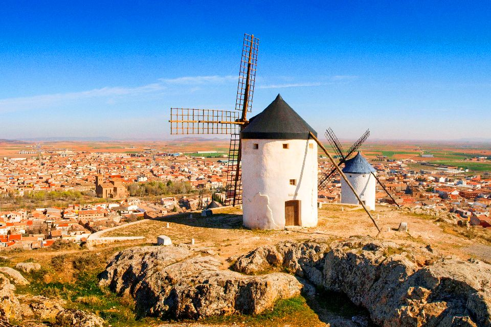 The Don Quixote sites , Monuments , Spain