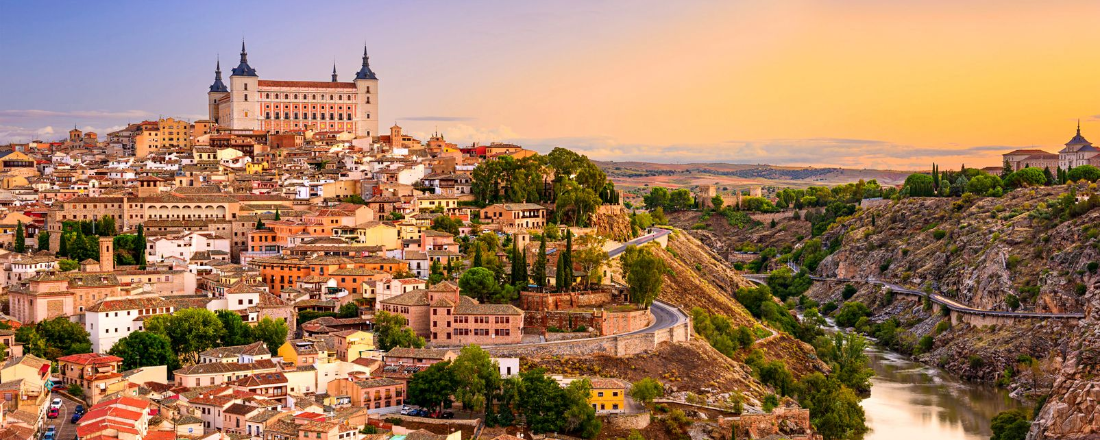 The Alcazar of Toledo , Spain