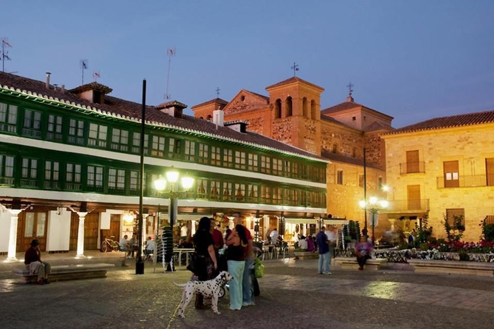 Plaza Mayor y Corral de Comedias de Almagro , España