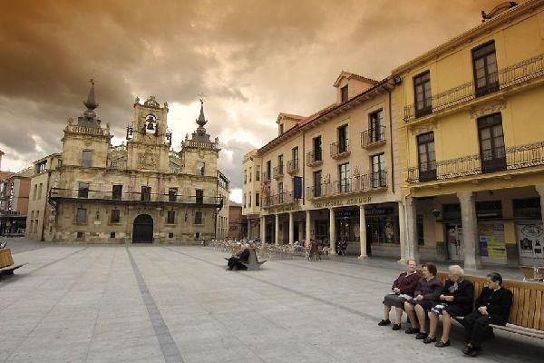 Kathedrale von Astorga , Spanien
