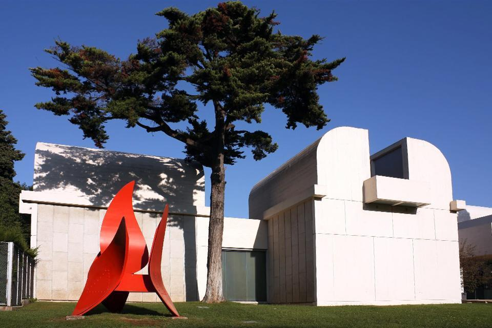 The Joan Miró Foundation , View of the Joan Miró Foundation , Spain