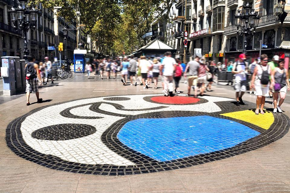 Fondation Joan Miró , Espagne