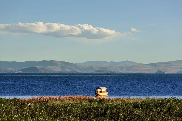 Le lac Titikaka , Navigation , Bolivie