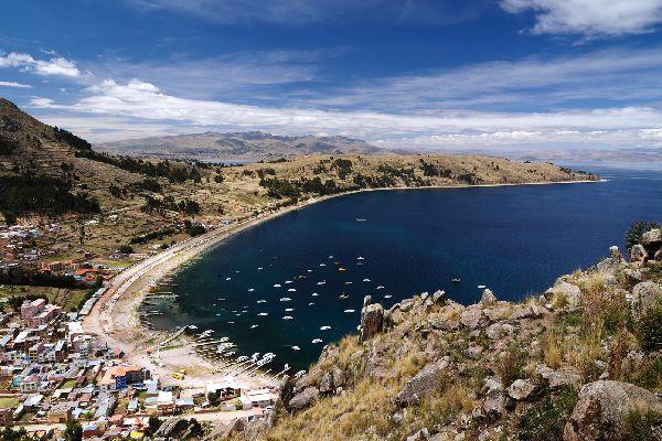 Le lac Titikaka , Entre deux eaux , Bolivie