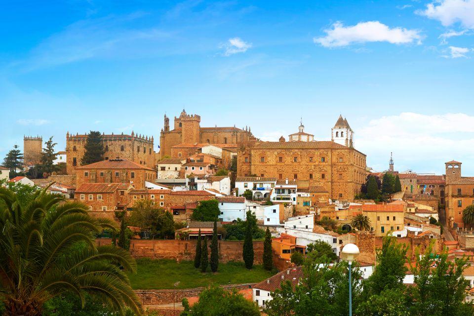 La Vía de la Plata, Vía de la plata, Arte y cultura, Extremadura