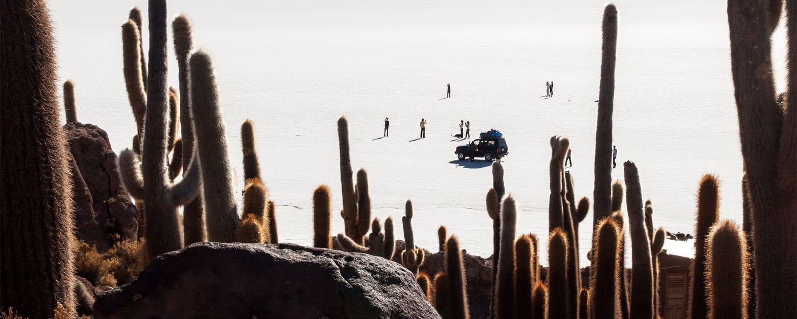 The Uyuni Salt Pan , Bolivia