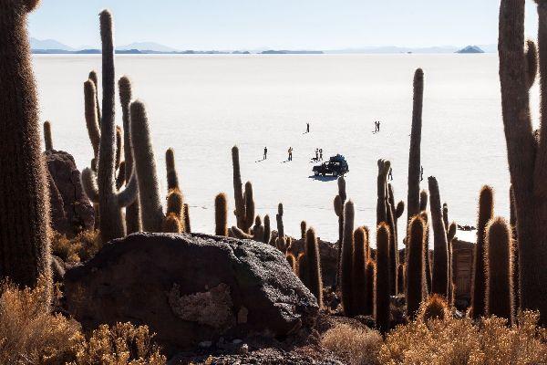 Le Salar de Uyuni , Le Salar d'Uyuni , Bolivie