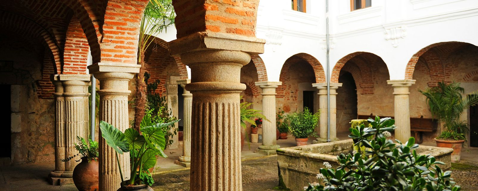 Les monuments, Espagne, Europe, Cloître, couvent, monastère, Palancar, Pedroso de Acim, Caceres, extremadure