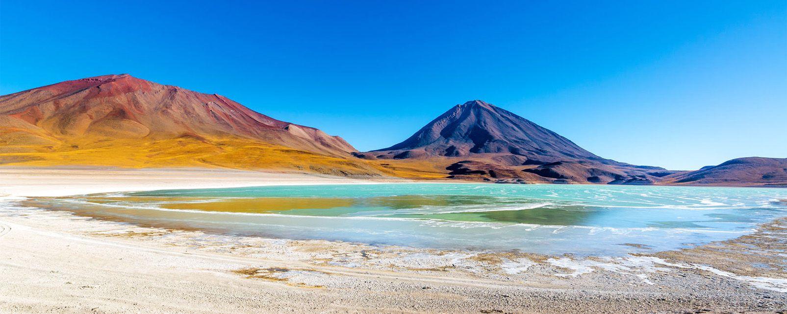 Laguna Verde (Green Lagoon) , Bolivia