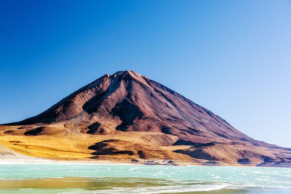La Lugana Verde , Laguna Verde bolivienne , Bolivie