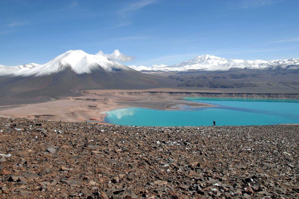 La Lugana Verde , Lac perché , Bolivie