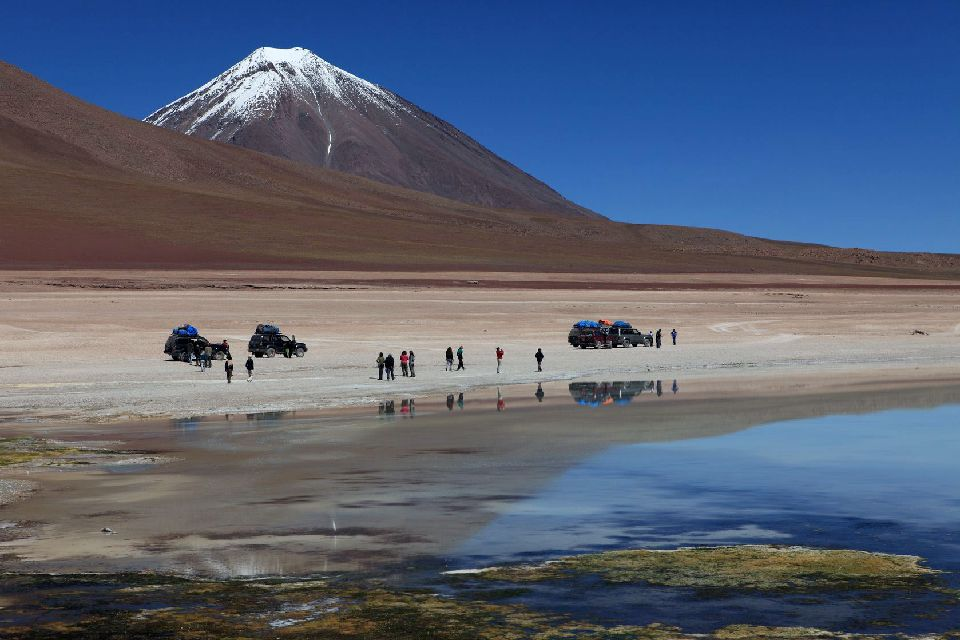 La Lugana Verde , Lacs voisins , Bolivie
