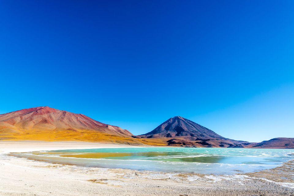 La Lugana Verde , La Laguna Verde , Bolivie