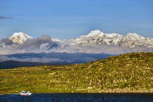 La Cordillera Real , Bolivia