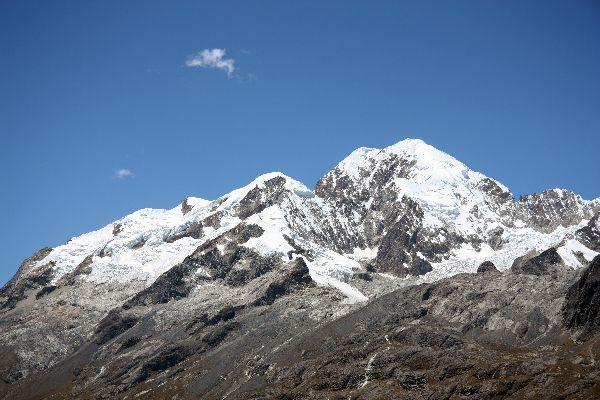 La cordillère royale , Hauts sommets , Bolivie
