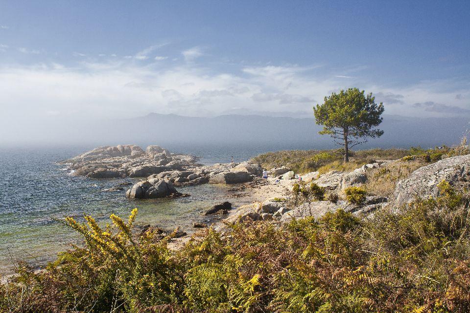 Die galizischen Rías , Spanien